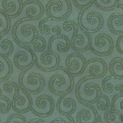 Home Decor Fabrics - Crypton Clematis 37 Lagoon