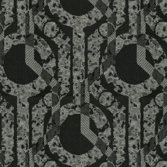 Home Decor Fabrics - Crypton Centerstage 9009 Black Tie