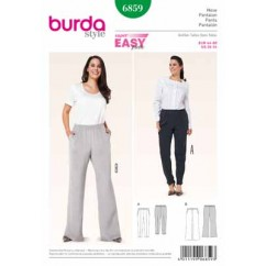 BURDA - 6859 Ladies Pants Plus