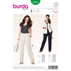 BURDA - 6952 Ladies Pants