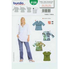 BURDA - 8100 Ladies Top