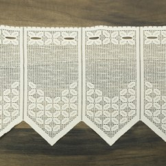Home Decor Fabric - Café lace - Andrea Natural