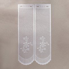 Home Decor Fabric - Café lace - Chloe White