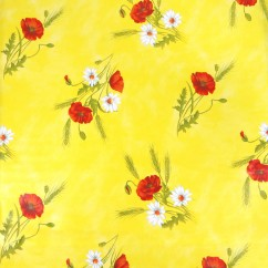 Tablecloth Vinyl - Flower  - Multicolour