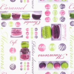 Tablecloth Vinyl - Macarons - Multicolour