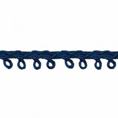 CREATIVE DECOR - 6mm Picot Trim - Navy