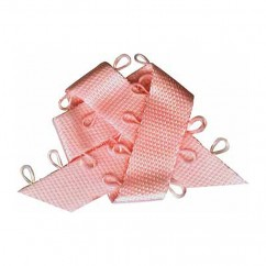ELAN Picot Trim Ribbon 6mm x 5m - Baby Pink