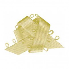 ELAN Picot Trim Ribbon 6mm x 5m - Baby Yellow