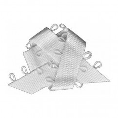 ELAN Picot Trim Ribbon 9mm x 5m - White
