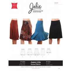 Jalie Pattern 2681 - Choice of gored skirts