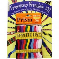 DMC Prism Friendship Bracelet 102 Book & Floss Pack