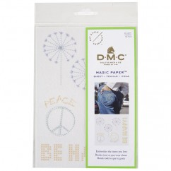 DMC Be Happy Collection Embroidery Magic Paper™