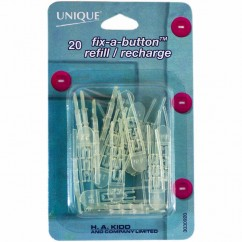 UNIQUE Fix-a-Button Refill - 20pcs