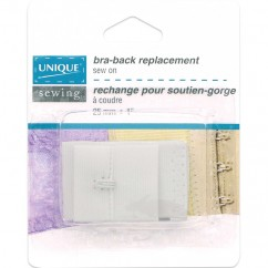 """Bra Back Replacement White 1"""""""
