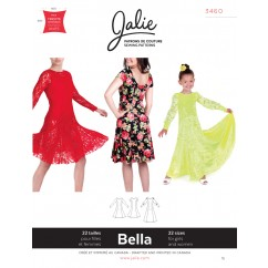Jalie Pattern 3460 - BELLA Fit and flare dress