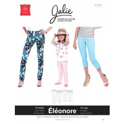 Jalie Pattern 3461 - ÉLÉONORE Pull-On Jeans