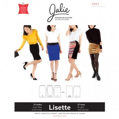 Jalie Pattern 3883 - LISETTE Pull-on Pencil Skirt