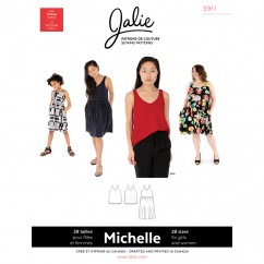 Jalie Pattern 3911 - MICHELLE - Tanks and Dress