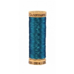 GÜTERMANN Metallic Thread 200m True Blue