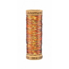 GÜTERMANN Metallic Thread 200m Variegated Spring