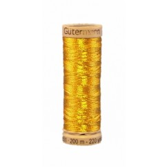 GÜTERMANN Metallic Thread 200m Gold
