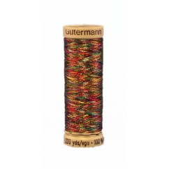 GÜTERMANN Metallic Thread 200m Varegated Medley