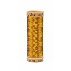 GÜTERMANN Metallic Thread 200m Antique Gold