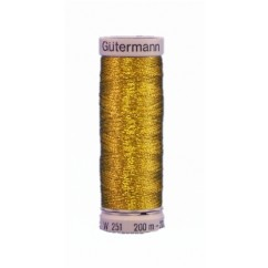 GÜTERMANN Metallic Thread 200m Col. 9995