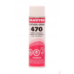 470 Feather Spray Adhesive
