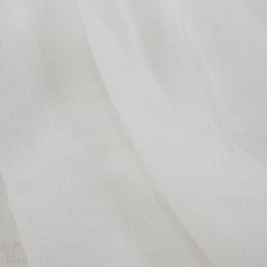 Home Decor Fabric - The Essentials - Wide width Athena sheer - White