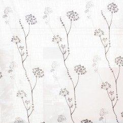 Home decor fabric - Wide-width Fancy sheers - Heritage - Black