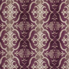 Home Decor Fabric - Bohemian chic - Giacomo - Purple