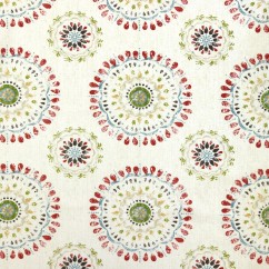 Home Decor Fabric - Robert Allen - Color wheel - Coral