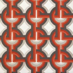 Home Decor Fabric - Robert Allen - Futura - Persimmon