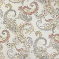 Home Decor Fabric - Robert Allen - Global paisley - Blush