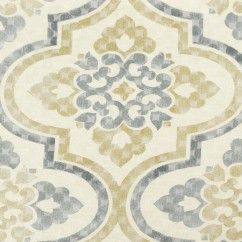 Home Decor Fabric - Waverly - Lattice imprint Grey