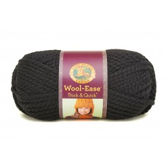 LION BRAND® YARN WOOL-EASE® THICK & QUICK®, CHARCOAL