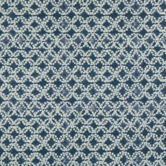 Home Decor Fabric - Bohemian chic - Batik - Indigo