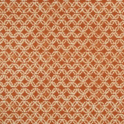 Home Decor Fabric - Bohemian chic - Batik - Orange