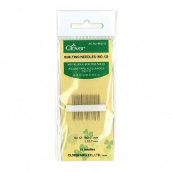 CLOVER - Quilting Needles #12