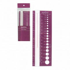 KNIT PICKS Needle Size Finder and Stitch Counter