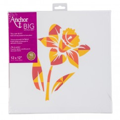 ANCHOR BIG STITCH ART - DAFFODIL
