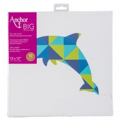 ANCHOR BIG STITCH ART - DOLPHIN
