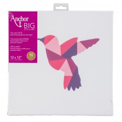 ANCHOR BIG STITCH ART - HUMMINGBIRD