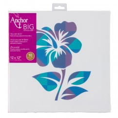 ANCHOR BIG STITCH ART - HIBISCUS