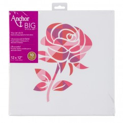 ANCHOR BIG STITCH ART - ROSE