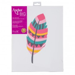 ANCHOR BIG STITCH ART - FEATHER