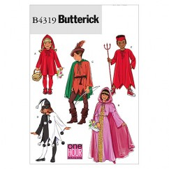 B4319 Children's/Girls' Classic Character Costumes (size: All Sizes In One Envelope)