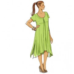 B5655 Misses'/Women's Top, Dress and Pants (size: 8-10-12-14-16)