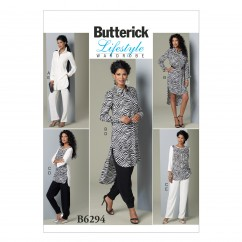 B6294 Misses' Tunic and Pants (Size: 8-10-12-14-16)